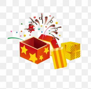 Open The Gift Box - Decorative Box Gift Clip Art PNG