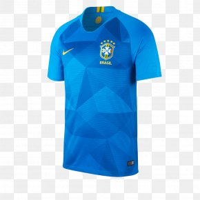 Nike - 2018 World Cup Brazil National Football Team 2014 FIFA World Cup Jersey PNG