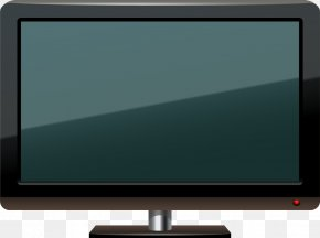 Vector Hand-drawn Computer - LED-backlit LCD Television Set Computer Monitors Multimedia Output Device PNG