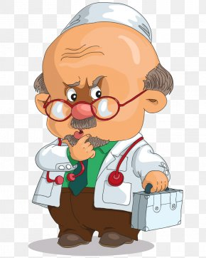 Cartoon Career Figures - Medical Diagnosis Royalty-free Therapy Clip Art PNG