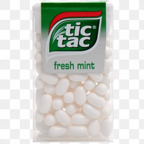 Chewing Gum - Tic Tac Chewing Gum Mint Kinder Chocolate Candy Cane PNG