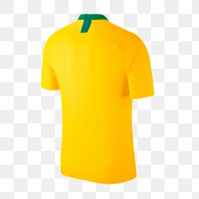Football - 2018 World Cup Brazil National Football Team 2014 FIFA World Cup Jersey PNG