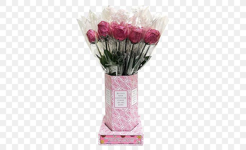 Belgian Chocolate Belgian Cuisine Rose Pink Flower Bouquet, PNG, 500x500px, Belgian Chocolate, Artificial Flower, Belgian Cuisine, Candy, Chocolate Download Free
