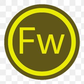 App Adobe Firework - Signage Area Text Symbol PNG
