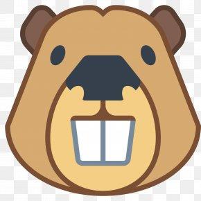 Tusk Beaver Head - Beaver Face Icon PNG