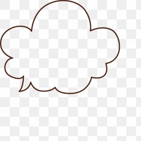 Dialog Clouds - Cloud Speech Balloon Dialogue Dialog Box Bubble PNG
