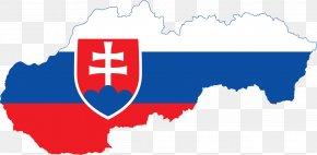 Flag - Flag Of Slovakia National Flag Map PNG