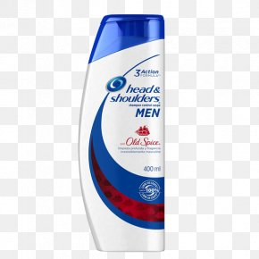 Old Spice - Head & Shoulders Shampoo Hair Conditioner Dandruff PNG