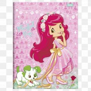 Moranguinho Baby - Strawberry Shortcake Muffin Notebook Hardcover PNG