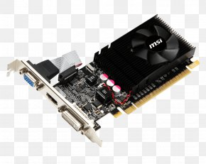 Computer - Graphics Cards & Video Adapters NVIDIA GeForce GT 610 PCI Express Digital Visual Interface PNG