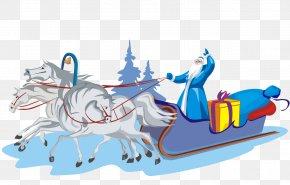 Santa Claus - Ded Moroz Snegurochka Santa Claus New Year Grandfather PNG