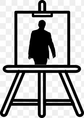 Painting - Easel Art Painting Clip Art PNG