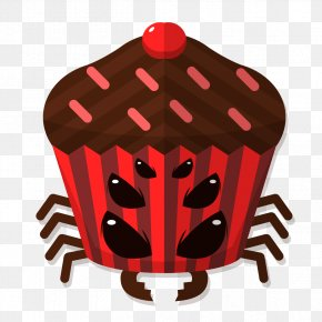 Spider Terrible Shape Cake - Cake Creativity PNG