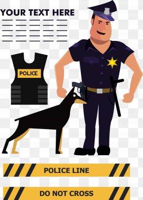 Police Dog - Police Officer Police Dog Icon PNG