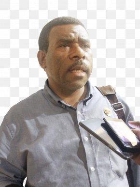 Salam - SKH Salam Papua Dewan Perwakilan Rakyat Daerah Political Party Microphone Army Officer PNG