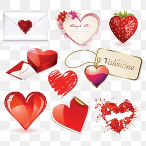 All Kinds Of Love - Valentine's Day Heart February 14 Clip Art PNG