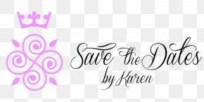 Save The Date - Save The Dates By Karen Logo Wedding Planner PNG