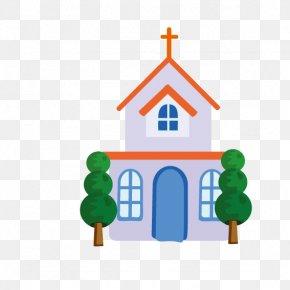 Church Building - Church Illustration PNG