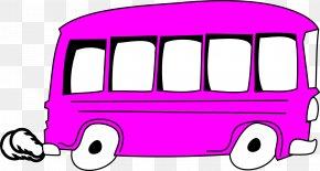 Bus - Airport Bus Car Transport Clip Art PNG
