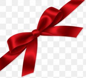 Red Gift Ribbon Image - Ribbon Computer File PNG
