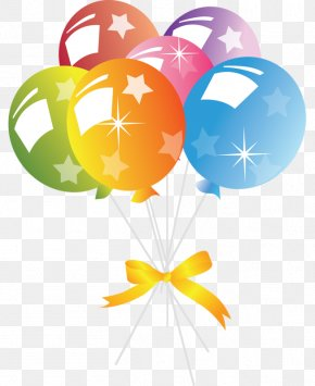 Birthday Clip Art Background - Birthday Clip Art Balloon Party PNG