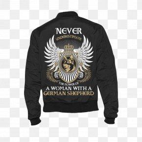 T-shirt - T-shirt Hoodie Woman Sweater Flight Jacket PNG
