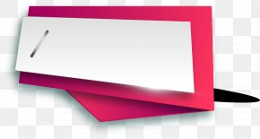 Red Ribbon Label - Brand PNG
