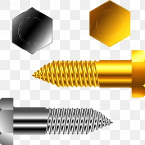 Screw And Nut - Royalty-free Stock Illustration Clip Art PNG