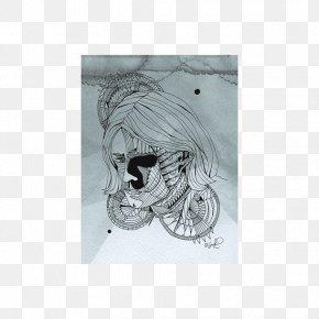 Skull - Skull Jaw Sketch PNG