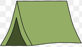 Tent Cliparts - Area Angle Green Pattern PNG