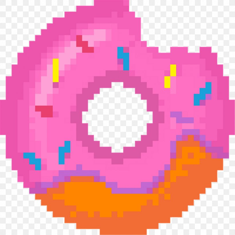 Donuts Pixel Art Vector Graphics Clip Art Png 1024x1024px Donuts Art Dunkin Donuts Magenta Pink Download