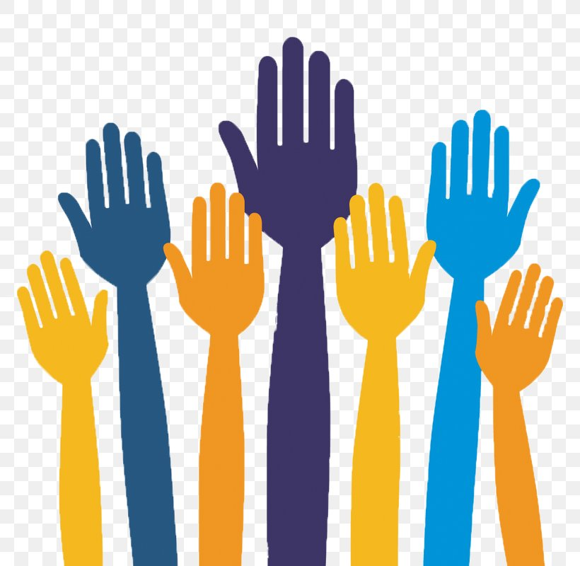 Volunteers and Social Workers, Caring for People - vector clipart