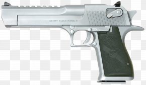 Handgun - IMI Desert Eagle .50 Action Express Magnum Research Pistol .44 Magnum PNG