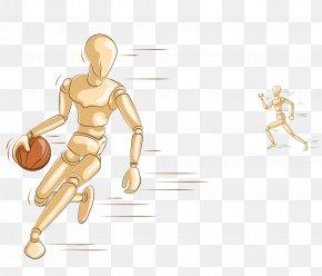 Playing Basketball - Basketball Sport PNG