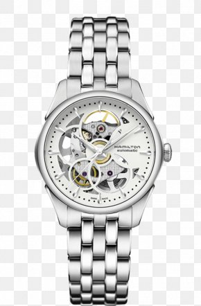 Watch - Hamilton Watch Company Fender Jazzmaster Skeleton Watch Invicta Watch Group PNG