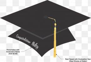 Cap Graduate - Square Academic Cap Graduation Ceremony Diploma Clip Art PNG