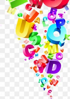 Colorful Abstract English Alphabet - English Alphabet English Grammar Royalty-free Illustration PNG