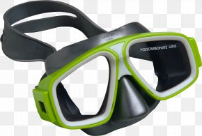 Flippers - Diving & Snorkeling Masks Underwater Diving Action Camera Stock Photography PNG