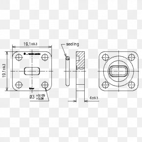 Ethernet Powerlink - Technical Drawing Paper Diagram PNG