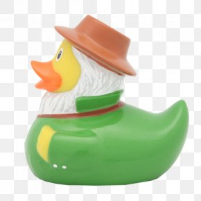 Duck - Rubber Duck Natural Rubber Bathtub Toy PNG
