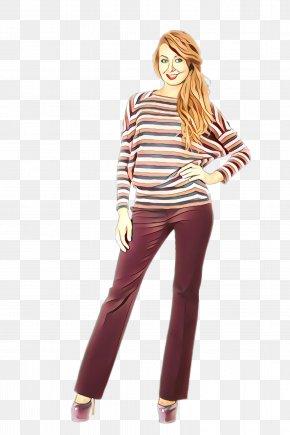 Leggings Leg - Clothing Jeans Shoulder Waist Maroon PNG