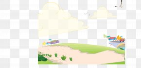 Outskirts Road Background Vector - Euclidean Vector Illustration PNG
