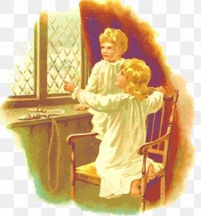 Vector Children - Brother Illustration PNG