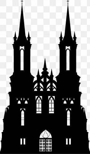 Gothic Transparent - Silhouette Clip Art PNG