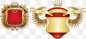 Noble Luxury Beer Bottle Stickers - Emblem Coat Of Arms Ornament Clip Art PNG