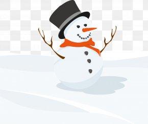 Vector Snowman - Snowman Euclidean Vector Illustration PNG