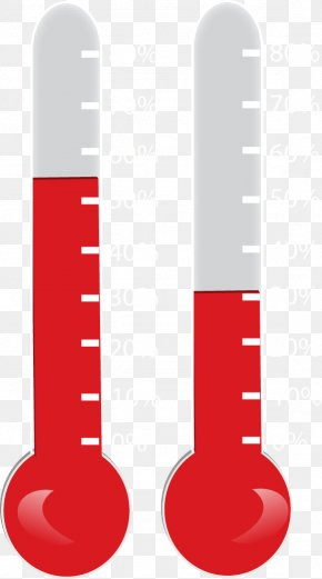 Blank Fundraising Thermometer Template - Thermometer Fundraising Clip Art PNG
