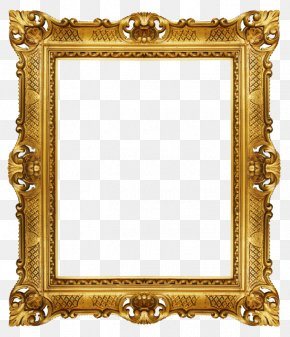 Gold Frame - Window Picture Frame Stock Photography Royalty-free PNG