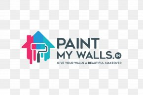 Painting - Logo PaintMyWalls Painting House Painter And Decorator PNG