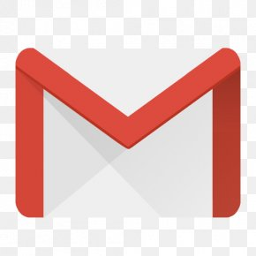 Gmail - Triangle Text Brand PNG